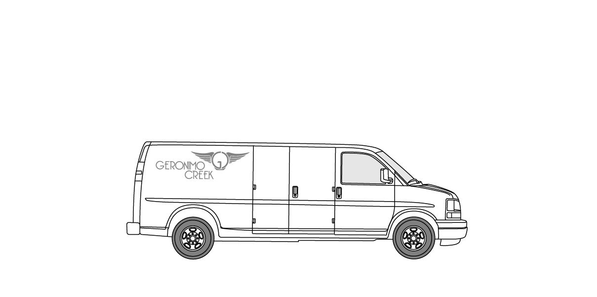1 ton grip package w/3500 express cargo van