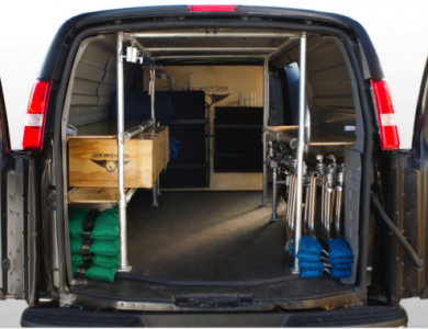 1-Ton Grip Van Package