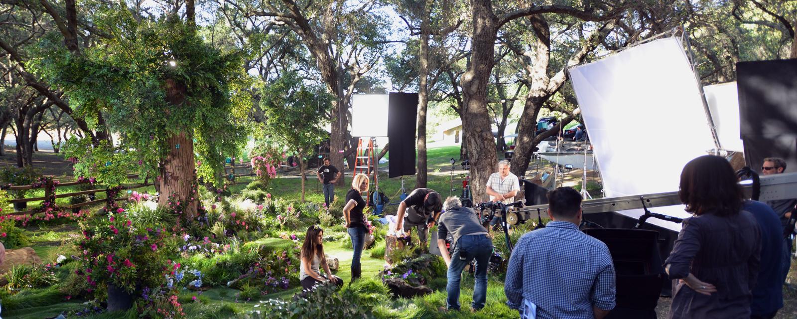 Toy Commercial, location shoot, calabasas, set lighting, geronimo creek, gaffer
