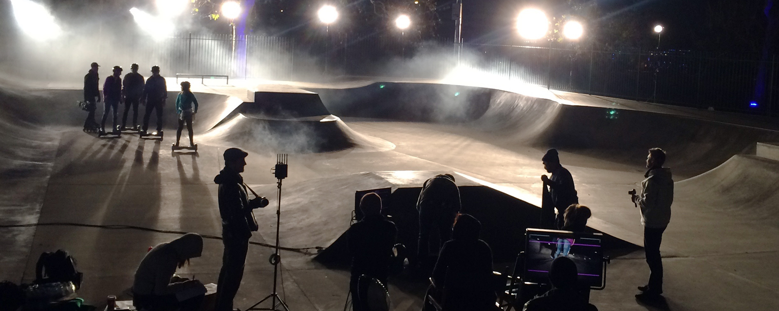 Razor Scooter Commercial, burbank skatepark, arri 4k, tungsten lighting
