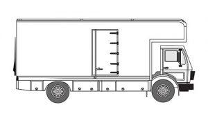 5-Ton Mercedes Truck