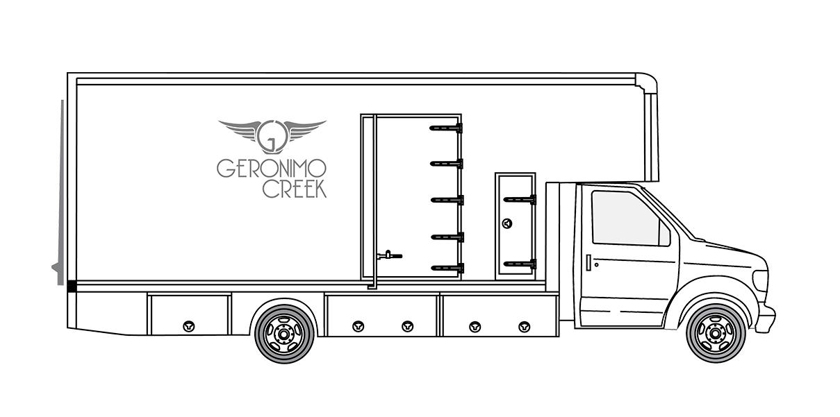 4 ton grip package w/E550 studio truck